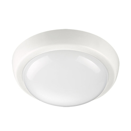 Настенный светодиодный светильник Novotech Opal 357508, IP54, LED 24W 4000K 1550lm, белый, пластик