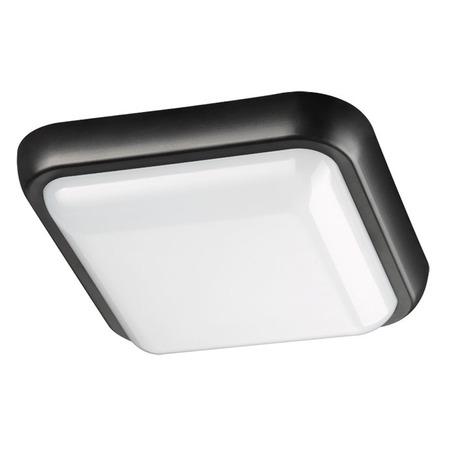 Настенный светодиодный светильник Novotech Street Opal 357511, IP54, LED 24W 4000K 1550lm, черный с белым, пластик