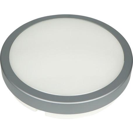 Настенный светодиодный светильник Novotech Street Opal 357515, IP54, LED 24W 4000K 1900lm, серый, пластик