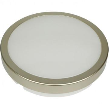 Настенный светодиодный светильник Novotech Street Opal 357516, IP54, LED 24W 4000K 1900lm, золото, пластик