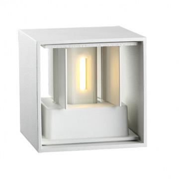 Настенный светодиодный светильник Novotech Calle 357518, IP54, LED 6W 3000K 365lm, белый, металл - миниатюра 5