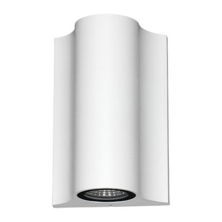 Настенный светодиодный светильник Novotech Street Calle 357519, IP54, LED 10W 3000K 600lm, белый, металл, стекло