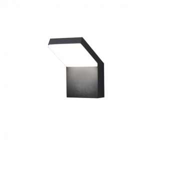 Настенный светодиодный светильник Novotech Street Roca 357520, IP65, LED 20W 3000K 1200lm, серый, металл с пластиком