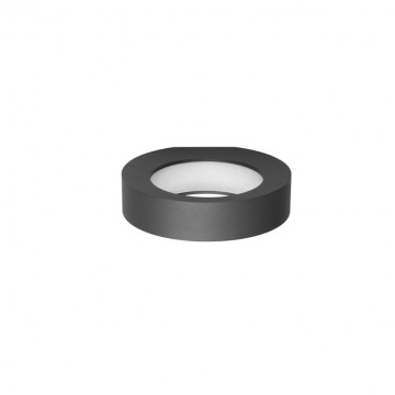 Настенный светодиодный светильник Novotech Street Roca 357523, IP65, LED 10W 3000K 550lm, серый, металл, пластик