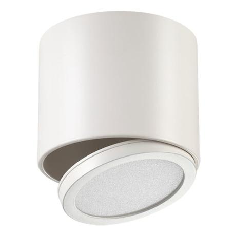Потолочный светодиодный светильник с регулировкой направления света Novotech Over Solo 357455, LED 11W 3000K 935lm, белый, металл, металл с пластиком, пластик