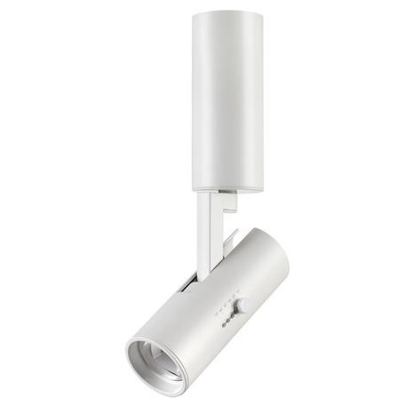 Потолочный светодиодный светильник с регулировкой направления света Novotech Blade 357544, LED 15W 3000K 1500lm, белый, металл