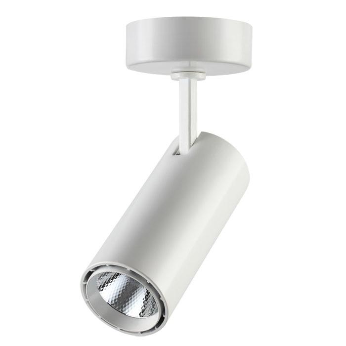 Потолочный светодиодный светильник с регулировкой направления света Novotech Selene 357549, LED 15W 4000K 970lm, белый, металл - фото 1