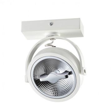 Потолочный светодиодный светильник с регулировкой направления света Novotech Snail 357560, LED 15W 3000K 825lm, белый, металл