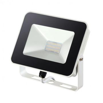 Светодиодный прожектор Novotech Street Armin 357526, IP65, LED 20W 4000K 2200lm, белый, черный с белым, металл, пластик
