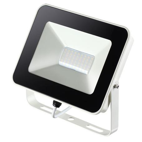 Светодиодный прожектор Novotech Street Armin 357528, IP65, LED 30W 4000K 2800lm, белый, черный с белым, металл, пластик