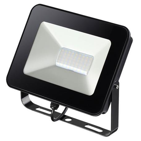 Светодиодный прожектор Novotech Street Armin 357529, IP65, LED 30W 4000K 2800lm, черный, металл, пластик