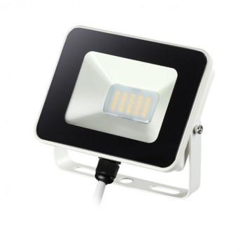 Светодиодный прожектор Novotech Armin 357530, IP65, LED 10W 4000K 1100lm, белый, черный, черно-белый, металл, пластик