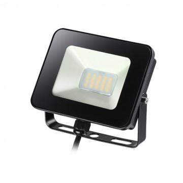 Светодиодный прожектор Novotech Armin 357531, IP65, LED 10W 4000K 1100lm, черный, металл, пластик