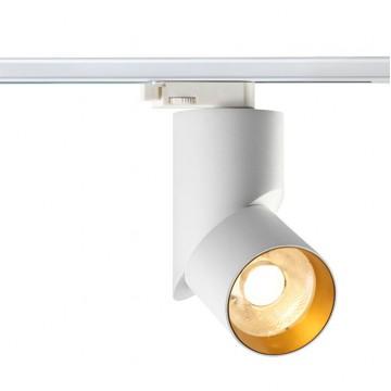Светодиодный светильник для шинной системы Novotech Union 357541, 3000K (теплый), белый, золото, металл