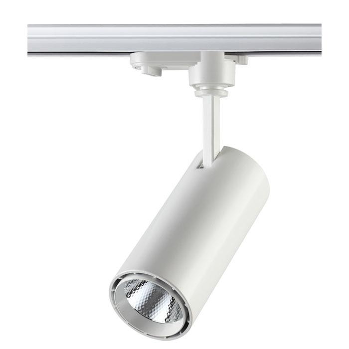 Светодиодный светильник для шинной системы Novotech Selene 357547, LED 15W 4000K (дневной), белый, металл - фото 1