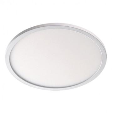 Встраиваемая светодиодная панель Novotech Stea 357484, LED 22W 3000K 1650lm, белый, металл с пластиком, пластик