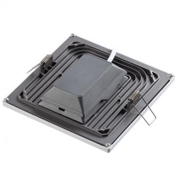 Встраиваемая светодиодная панель Novotech Stea 357486, LED 8W 3000K 600lm, белый, металл с пластиком, пластик - миниатюра 3