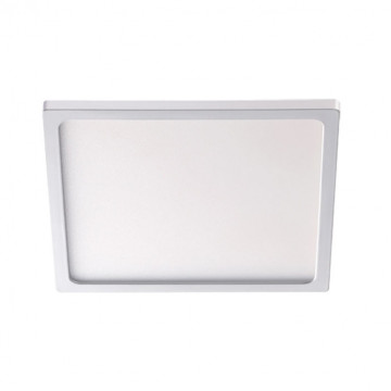 Встраиваемая светодиодная панель Novotech Stea 357487, LED 16W 3000K 1200lm, белый, металл с пластиком, пластик