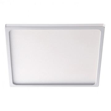 Встраиваемая светодиодная панель Novotech Stea 357488, LED 22W 3000K 1650lm, белый, металл с пластиком, пластик