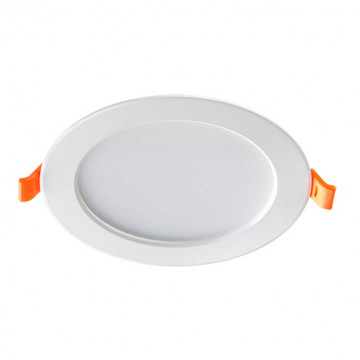 Светодиодная панель Novotech Spot Luna 357572, LED 7W 3000K 490lm, белый, металл с пластиком, пластик