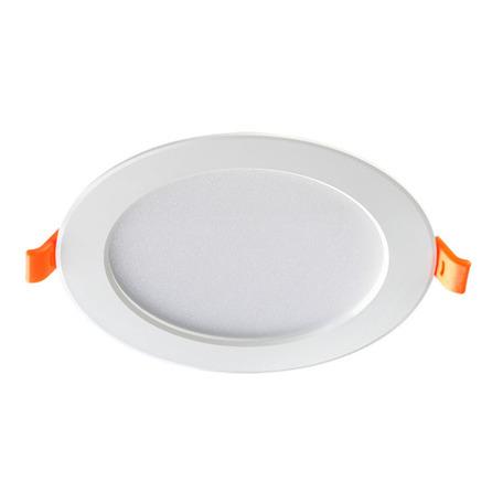 Светодиодная панель Novotech Spot Luna 357573, LED 10W 3000K 700lm, белый, металл с пластиком, пластик