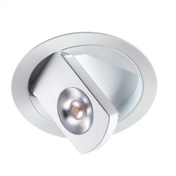 Встраиваемый светодиодный светильник с регулировкой направления света Novotech Razzo 357481, LED, металл