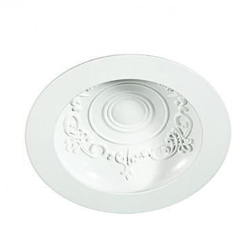 Встраиваемый светодиодный светильник Novotech Gesso 357490, LED 15W, 3000K (теплый), белый, металл