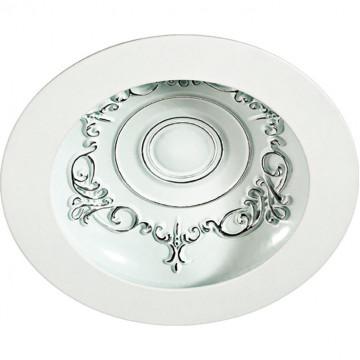 Встраиваемый светодиодный светильник Novotech Spot Gesso 357491, LED 15W 3000K 1050lm, белый, металл