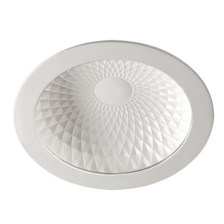 Встраиваемый светодиодный светильник Novotech Gesso 357497, LED 9W 3000K 570lm, белый, металл