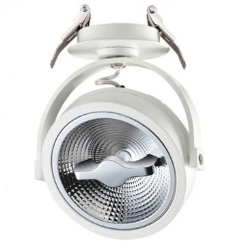 Встраиваемый светодиодный светильник с регулировкой направления света Novotech Snail 357565 3000K (теплый), белый, металл