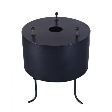 Крепление для монтажа в грунт Maytoni S-BASE-BIG, черный, металл