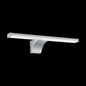 Настенный светодиодный светильник Eglo Pandella 2 97059, IP44, LED 8W 4000K 1000lm, серебро, пластик