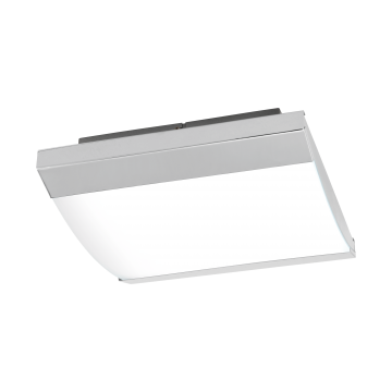 Настенный светодиодный светильник Eglo Siderno 97869, IP44, LED 23,5W 4000K 2900lm, хром, металл, металл со стеклом/пластиком, пластик