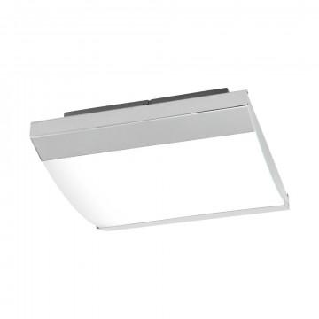 Потолочный светодиодный светильник Eglo Siderno 97869, IP44, LED 23,5W 4000K 2900lm, хром, металл, металл с пластиком, пластик
