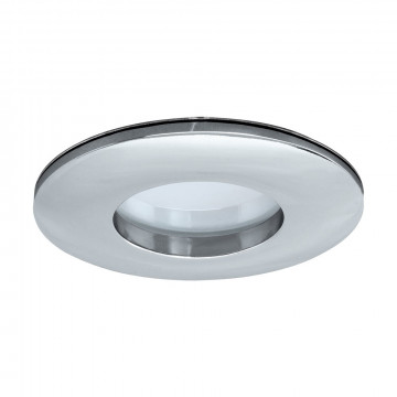 Встраиваемый светодиодный светильник Eglo Margo LED 97427, IP65, LED 5W 3000K 400lm, хром, металл, пластик