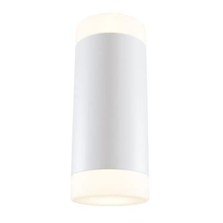 Настенный светодиодный светильник Maytoni Kilt C027WL-L10W, LED 10W 3000K 720lm CRI82, белый, металл, металл с пластиком