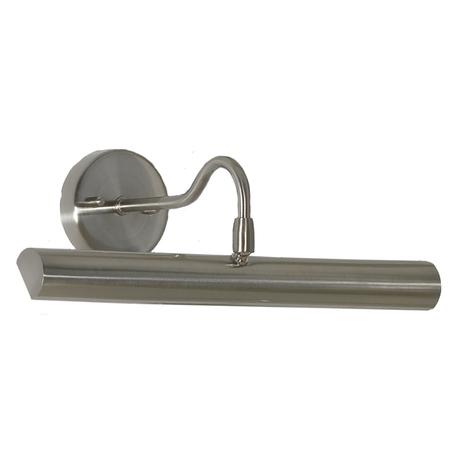 Настенный светильник для подсветки картин Lussole Lido LSQ-0211-02, IP21, 2xE14x25W, никель, металл