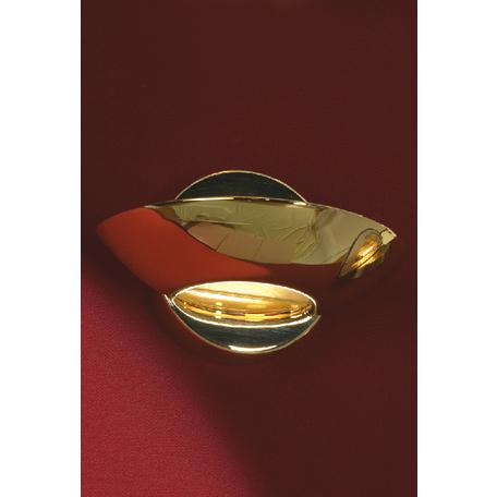 Настенный светильник Lussole Loft Astro LSQ-3321-01, IP21, 1xR7Sx100W, золото, металл