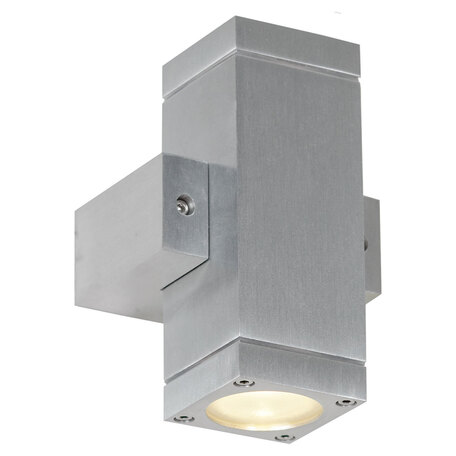 Настенный светильник Lussole Loft Vacri LSQ-9511-02, IP54, 2xGU10x35W, серый, металл