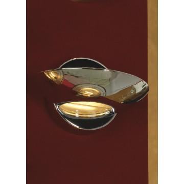 Настенный светильник Lussole Loft Astro LSQ-3311-01, хром, металл