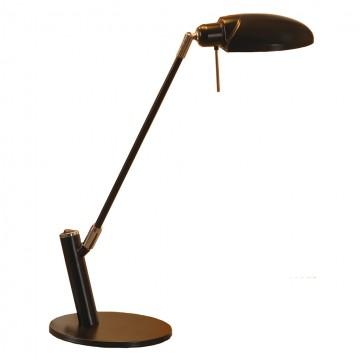 Настольная лампа Lussole Roma LST-4314-01, IP21, 1xE14x40W, черный, металл