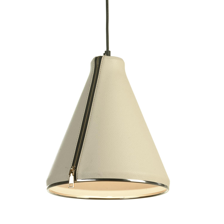 Подвесной светильник Lussole Loft Coram LSP-9865, IP21, 1xE27x60W, черный, белый, металл, кожзам - фото 1