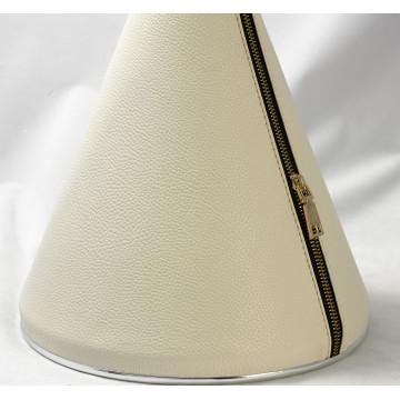 Подвесной светильник Lussole Loft Coram LSP-9865, IP21, 1xE27x60W, черный, белый, металл, кожзам - миниатюра 3