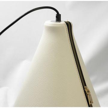 Подвесной светильник Lussole Loft Coram LSP-9865, IP21, 1xE27x60W, черный, белый, металл, кожзам - миниатюра 4