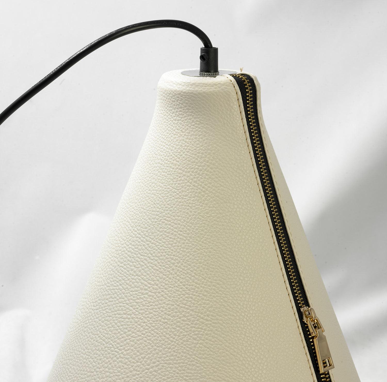 Подвесной светильник Lussole Loft Coram LSP-9865, IP21, 1xE27x60W, черный, белый, металл, кожзам - фото 4