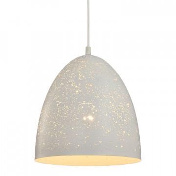 Подвесной светильник Lussole Loft Port Chester lsp-9891, IP21, 1xE27x60W, белый, металл