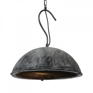 Подвесной светильник Lussole Loft Newburgh lsp-9893, IP21, 1xE27x60W, серый, металл
