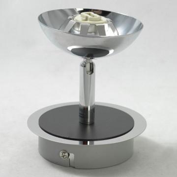 Потолочный светильник с регулировкой направления света Lussole Rapallo LSX-4901-01, IP21, 1xG9x40W, хром, белый, металл, стекло - миниатюра 4
