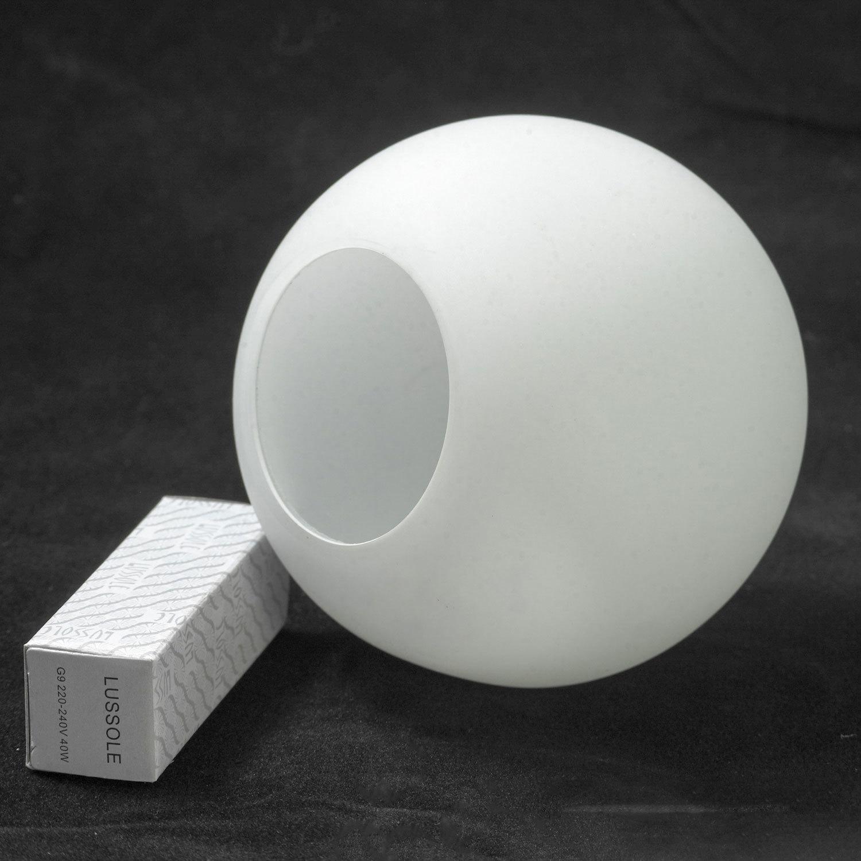 Потолочный светильник с регулировкой направления света Lussole Rapallo LSX-4901-01, IP21, 1xG9x40W, хром, белый, металл, стекло - фото 6