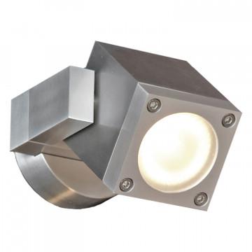 Настенный светильник с регулировкой направления света Lussole Loft Vacri LSQ-9511-01, IP54, 1xGU10x35W, серый, металл